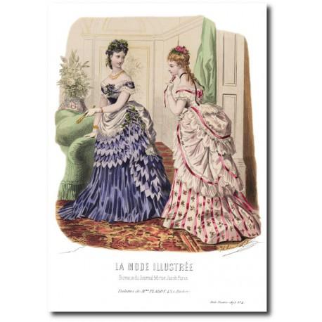 La Mode Illustrée 1873 4