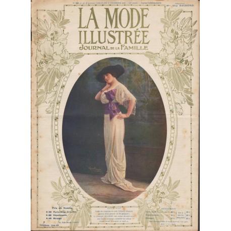 Complete magazine La Mode Illustrée 1912 N°50