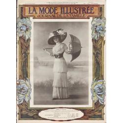 La Mode Illustrée 1910 N°28 1ère page