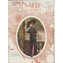 La Mode Illustrée 1911 N°24 1ère page