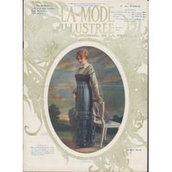 La Mode Illustrée 1911 N°32 1ère page