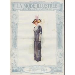 La Mode Illustrée 1912 N°03 1ère page