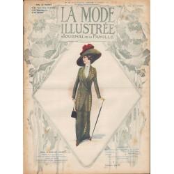 La Mode Illustrée 1912 N°41 1ère page