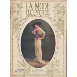 La Mode Illustrée 1912 N°50 1ère page