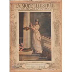 La Mode Illustrée 1913 N°04 1ère page