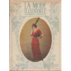 La Mode Illustrée 1913 N°13 1ère page