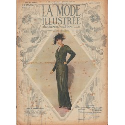 La Mode Illustrée 1913 N°19 1ère page
