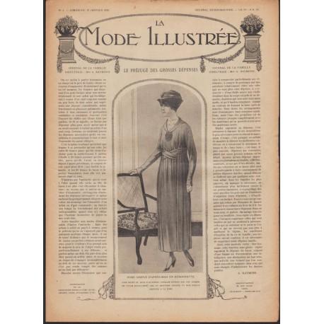 Revue complète de La Mode Illustrée 1918 N°04