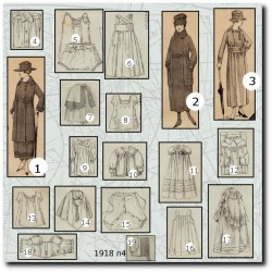 Sewing patterns 1918 N°04