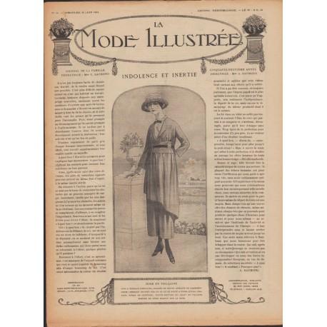 Complete magazine La Mode Illustrée 1918 N°26