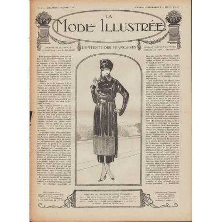 Revue complète de La Mode Illustrée 1918 N°40