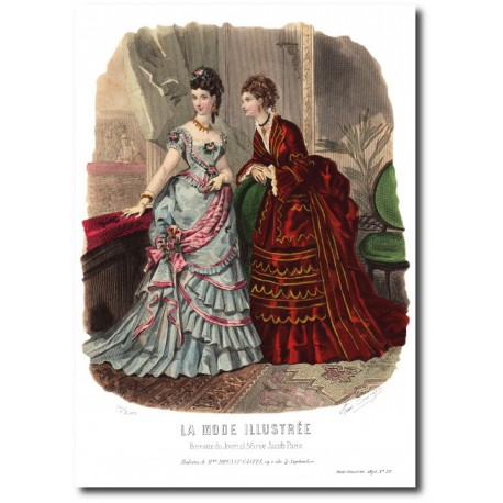La Mode Illustrée 1873 52