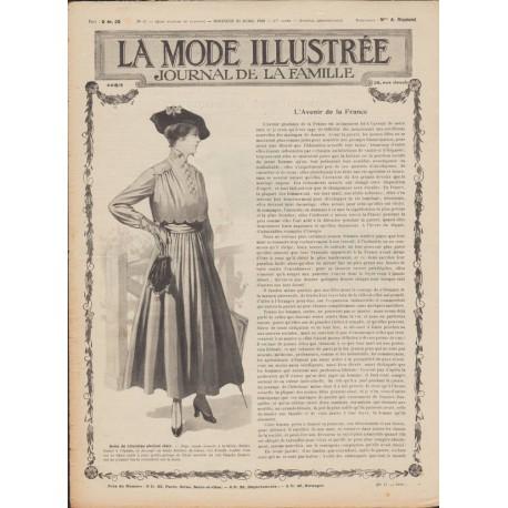 Revue complète de La Mode Illustrée 1916 N°17