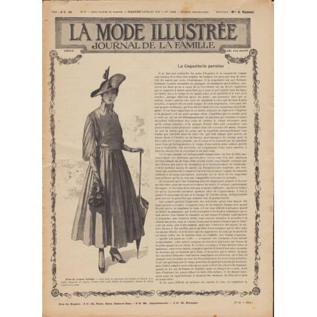 Complete magazine La Mode Illustrée 1916 N°28