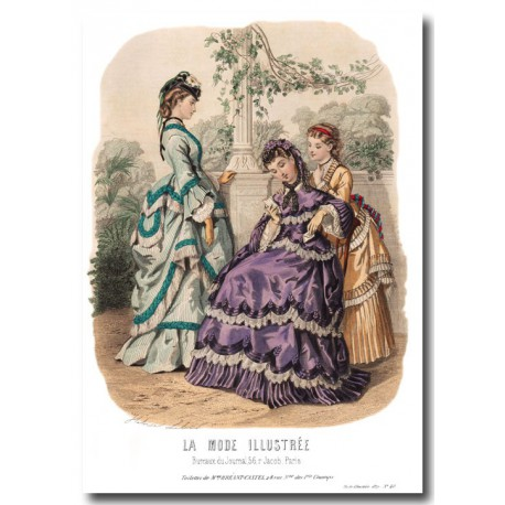 La Mode Illustrée 1870 40
