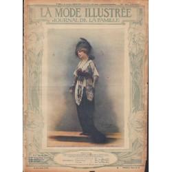 La Mode Illustrée 1914 N°26 1ère page