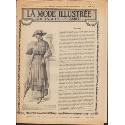 La Mode Illustrée 1915 N°30 1ère page