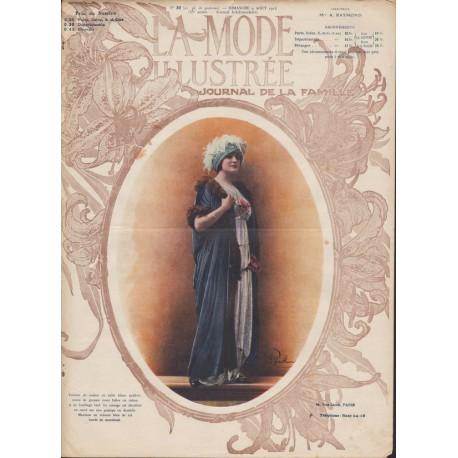 Complete magazine La Mode Illustrée 1914 N°32