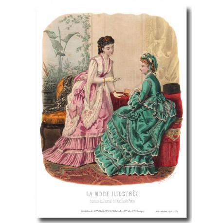 La Mode Illustrée 1870 34