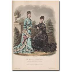 Fashion plate La Mode Illustrée 1877 33