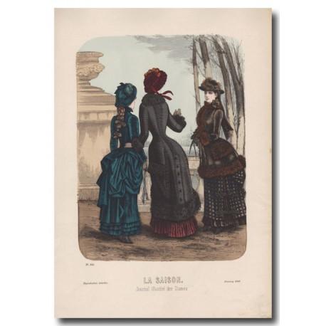 Gravure de La Saison 1883 525