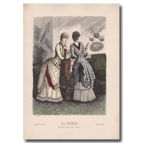 Gravure de La Saison 1883 529