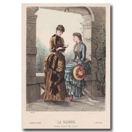 Gravure de La Saison 1883 544