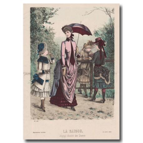 Gravure de La Saison 1883 545