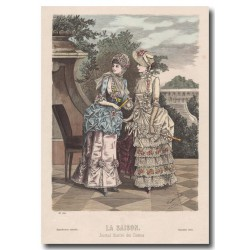 Gravure de La Saison 1883 550