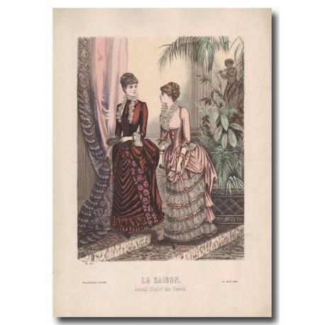 Gravure de La Saison 1884 571