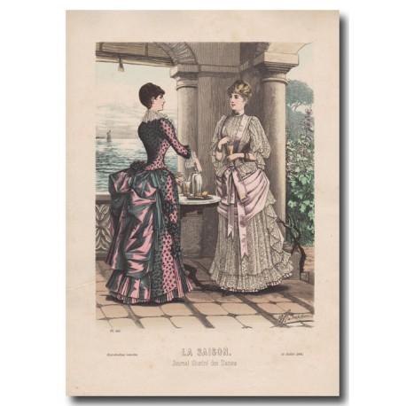 Gravure de La Saison 1884 581