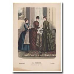 Fashion plate La Saison 1885 600
