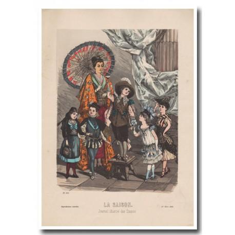 Gravure de La Saison 1885 601