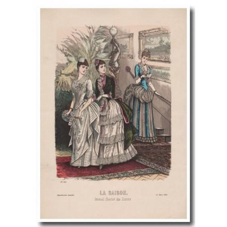 Gravure de La Saison 1885 603