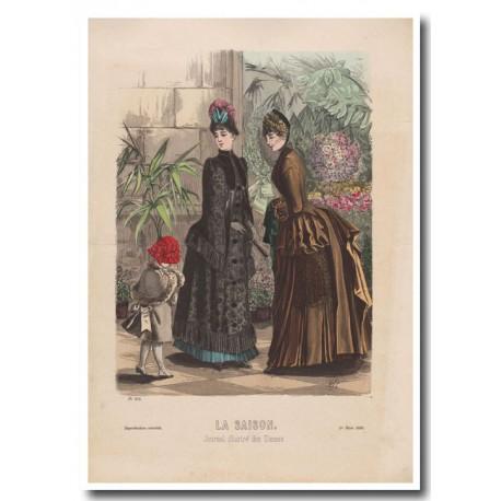 Gravure de La Saison 1885 604