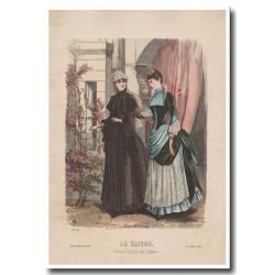 Gravure de La Saison 1885 624