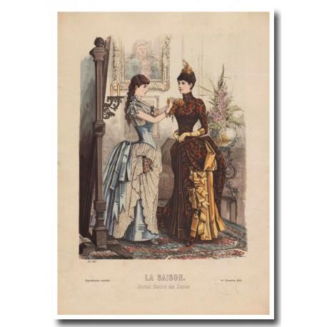 Gravure de La Saison 1885 627