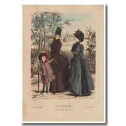 Gravure de La Saison 1885 628