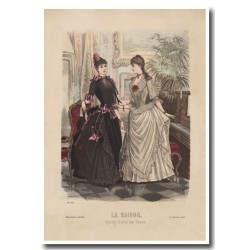 Gravure de La Saison 1885 629