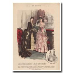Gravure de La Saison 1887 673