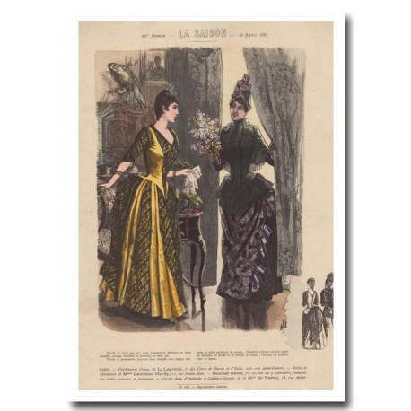 Gravure de La Saison 1887 680