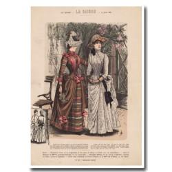 Gravure de La Saison 1887 686