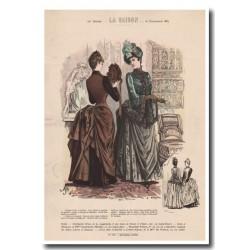 Gravure de La Saison 1887 702