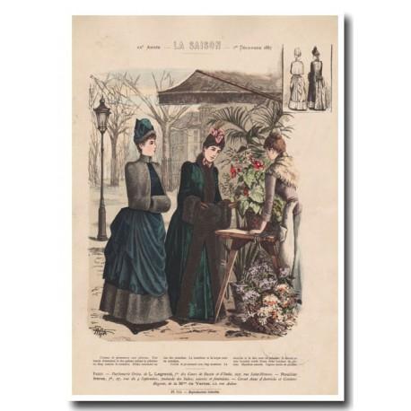 Gravure de La Saison 1887 703