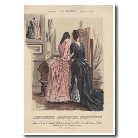 Gravure de La Saison 1887 704