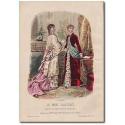 Fashion plate La Mode Illustrée 1882 06