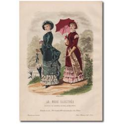 Fashion plate La Mode Illustrée 1882 16