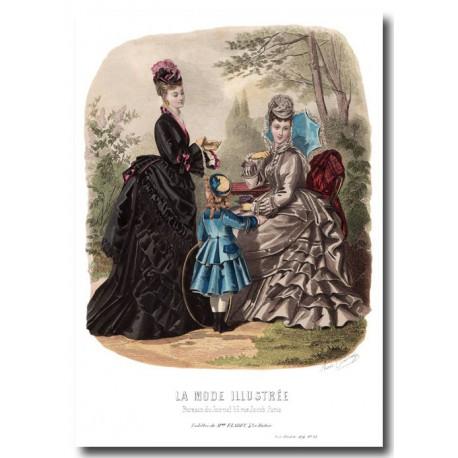 La Mode Illustrée 1874 23