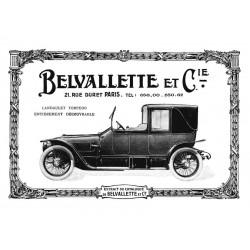 Publicité Belvalette 1913