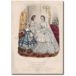 Fashion plate La Mode Illustrée 1862 13